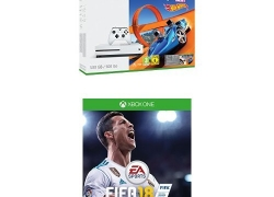 Xbox One S 500GB + FIFA 18 + Forza Horizon 3